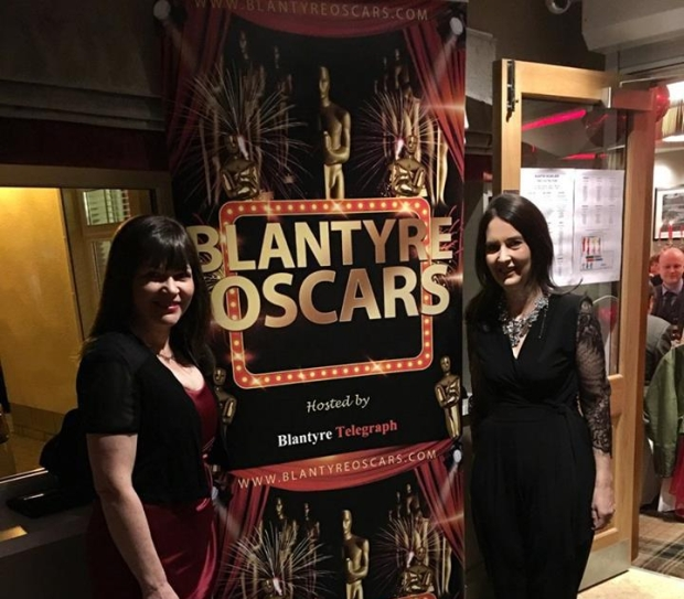 Clare Haughey MSP and Margaret Ferrier at the Blantyre Oscars