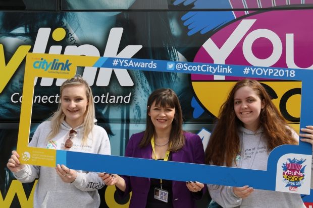 Clare Haughey MSP - Young Scot Awards