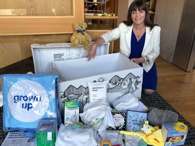 Clare Haughey MSP - Baby Box