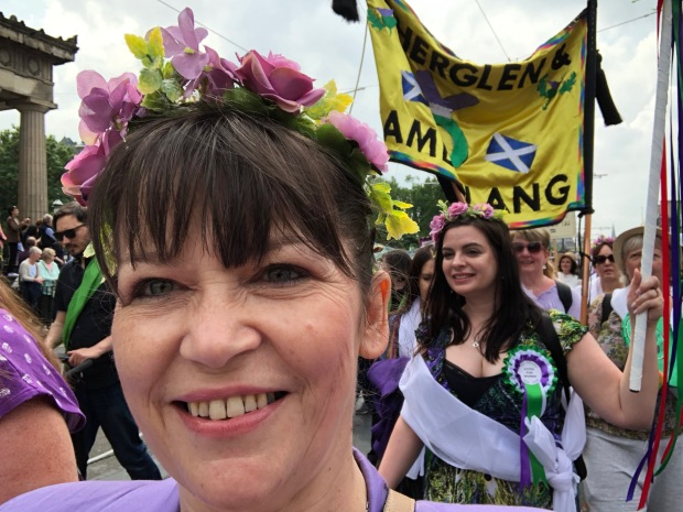 Clare Haughey MSP - Suffrage March.jpg