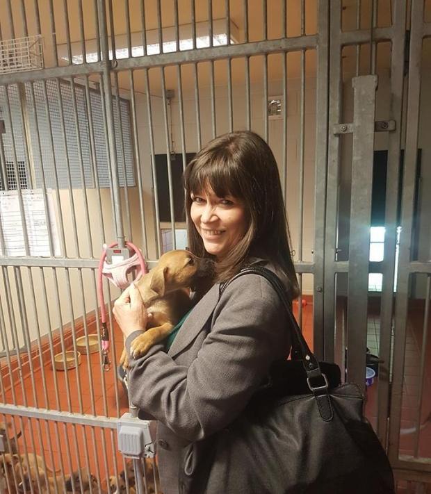 Clare Haughey MSP at SSPCA Lanarkshire